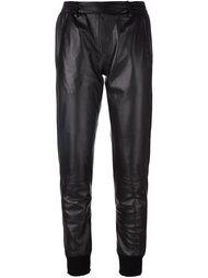 кожаные спортивные брюки 'Alexis'  Manokhi