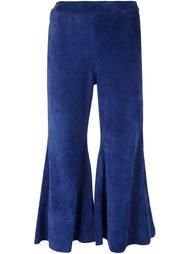 укороченные расклешенные брюки Manokhi
