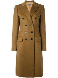 двубортное пальто Dolce & Gabbana