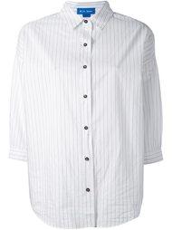 рубашка 'Poets' в тонкую полоску Mih Jeans