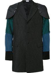 пальто с наплечниками Comme Des Garçons Homme Plus