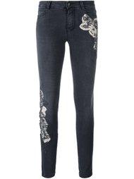 джинсы скинни с нашивками Ermanno Scervino