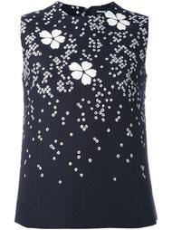 блузка с цветочным узором Dsquared2