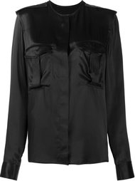 collarless pocket blouse Haider Ackermann