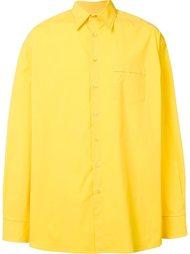 рубашка с нагрудным карманом Raf Simons