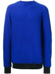 текстурированный свитер Sacai