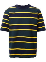 футболка в полоску Sacai