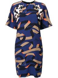 платье шифт  MSGM