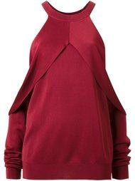 свитер с открытыми плечами  Dion Lee