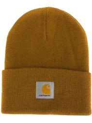шапка с заплаткой с логотипом Carhartt