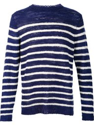'Picasso' striped sailor jumper The Elder Statesman
