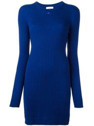 облегающее вязаное платье Courrèges