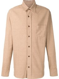 brushed flannel shirt The Elder Statesman