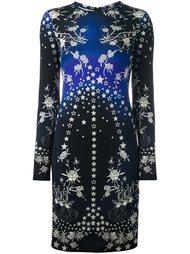 приталенное платье  Roberto Cavalli
