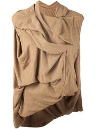 свитер с оборками  Rick Owens DRKSHDW