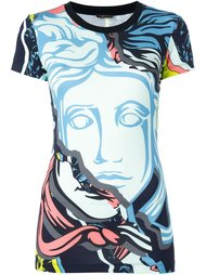 футболка 'Jagged Baroque Medusa'  Versace