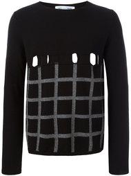 свитер в клетку  Comme Des Garçons Shirt