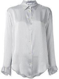 блузка в тонкую полоску Forte Forte