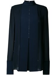 удлиненная блузка  Dion Lee
