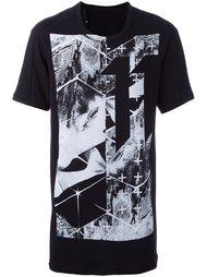 футболка с абстрактным принтом 11 By Boris Bidjan Saberi