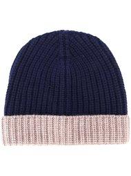 двухцветная шапка Eleventy