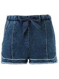 джинсовые шорты Giuliana Romanno