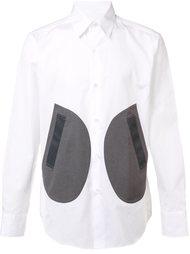 рубашка с принтом кругов Ganryu Comme Des Garcons