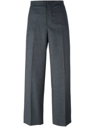 классические укороченные брюки Incotex