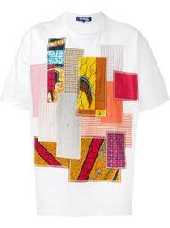 футболка в стиле пэчворк  Junya Watanabe Comme Des Garçons Man