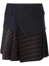 плиссированная юбка  A.F.Vandevorst