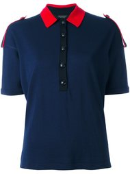 трикотажная рубашка-поло Burberry Runway
