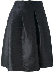 юбка А-образного силуэта Jil Sander Navy
