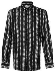 рубашка в полоску со звездами Saint Laurent