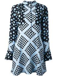 платье-рубашка с узором House Of Holland