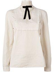кружевная блузка с вышивкой Dsquared2