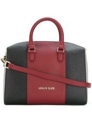 сумка-тоут дизайна колор-блок Armani Jeans