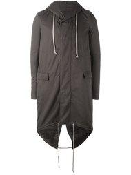 пальто 'Fishtail'  Rick Owens DRKSHDW