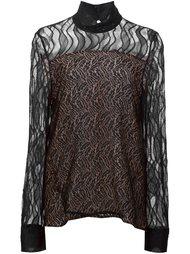 кружевная блузка  Prabal Gurung