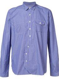 striped pocket shirt  Wooster + Lardini