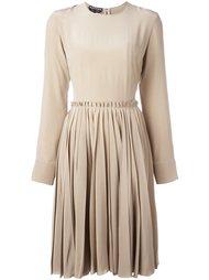 платье с длинными рукавами  Rochas