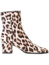 ботинки с леопардовым принтом   Alexandre Birman