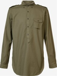 band collar shirt  Wooster + Lardini