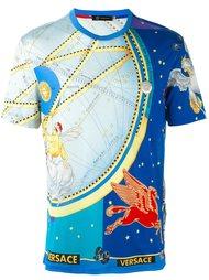 футболка с принтом 'Astrological'  Versace