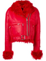 байкерская куртка на молнии  R13