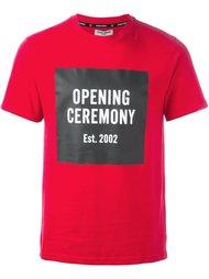 футболка с принтом-логотипом Opening Ceremony