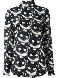 рубашка с рисунком в виде котов Nina Ricci