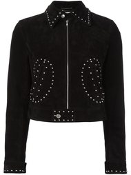 куртка с заклепками  Saint Laurent
