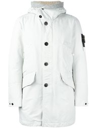 пальто с капюшоном Stone Island