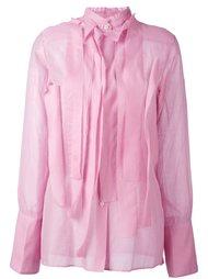 плиссированная блузка  Yang Li