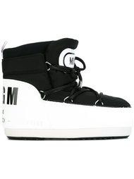 зимние ботинки MSGM